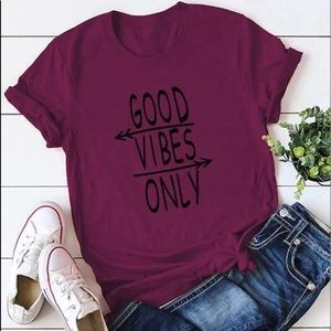 💫Coming Soon!💫Good Vibes Graphic Tee | PLUS SIZE